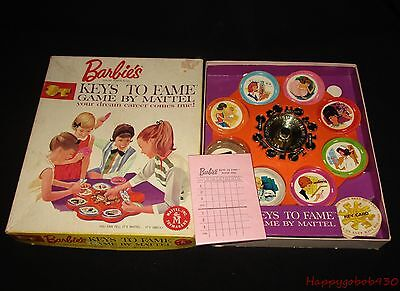 Vintage Barbie Key's To Fame Game Dream Career By Mattel Complete Circa 1963 #2