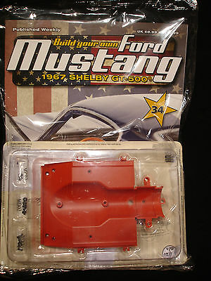 Deagostini Build Your Own 1/8 Ford Mustang 1967 Shelby GT-500 -- Issue 34