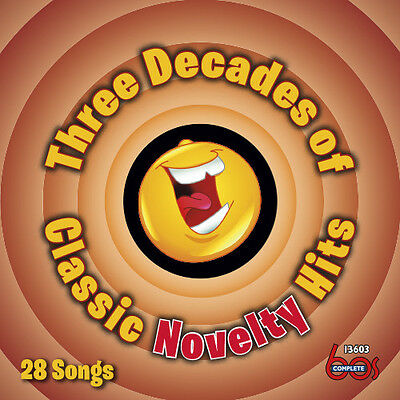 Various Artists - Three Decades of Classic Novelty Hits [New CD]