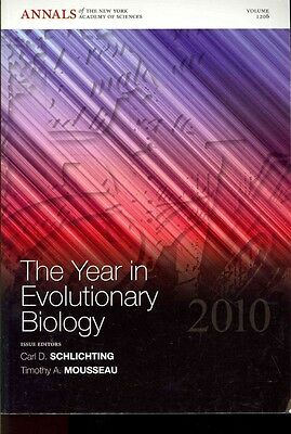The Year in Evolutionary Biology by Carl D. Schlichting Paperback Book (English)