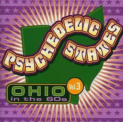 Various Artists, Psy - Psychedelic States: Ohio in the 60's 3 / Various [New CD]