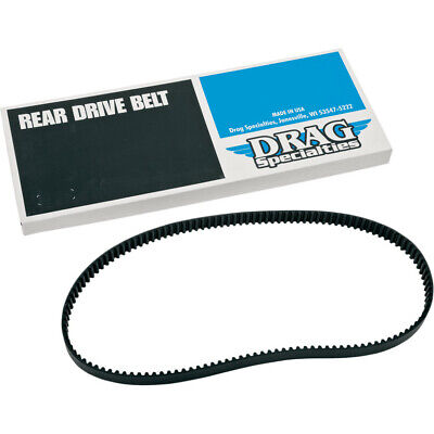 """Drag 1-1/8"""" 130 Tooth Final Rear Drive Pulley Belt Harley 07-16 Dyna FXD/WG"""