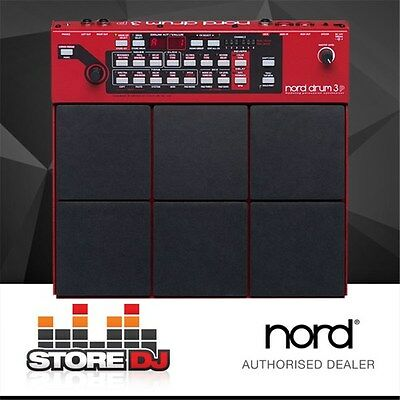 Nord Pad Drum 3P Modelling Percussion Synthesizer w/ FX