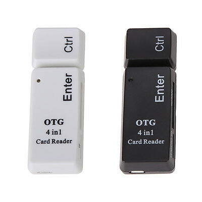 New Creative USB2.0 + Micro OTG SD/TF/MS/M2 4 In 1 Phone Card Reader for Samsung