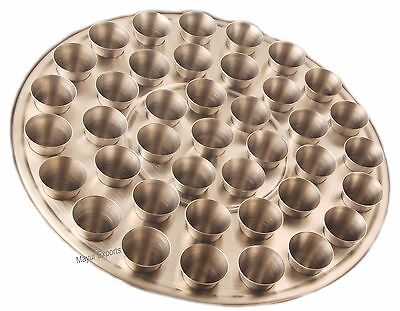Set of 40 Small Holy Cups Stainless Steel Communion Cups - Religious EHD