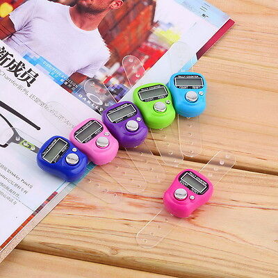 Stitch Marker And Row Finger Counter LCD Electronic Digital Tally Counter SW