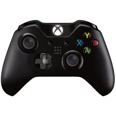 Microsoft Xbox One/one S Wireless Controller Black Day One 2013 Edition