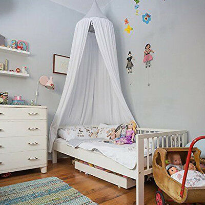 Pink Canopy Bed Netting Mosquito Bedding Net Baby Kids Reading Play Tents Cotton