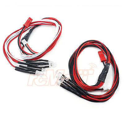 Yeah Racing 3mm & 5mm White Red LED Light Set RC Cars Drift Touring #LK-0031