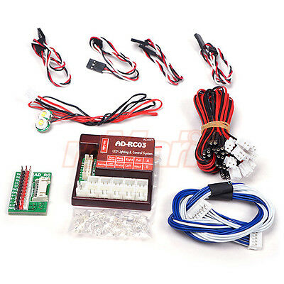 AD-RC 4 Channel LED Lighting & Control System For Crawler Truck Drift #AD-RC03