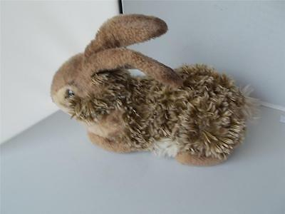 Vintage RARE STEIFF Cute RABBIT with Button in Ear Plush Soft Toy German 13""
