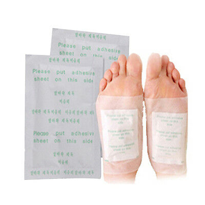 50pcs Detox Foot Pads Patch Detoxify Toxins Fit Health Care with Adhesive