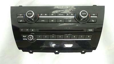 BMW X5 F15 Climate Heater & CD Player Controls Panel 90025-678/0008 - NCS1189607
