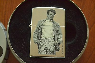 ZIPPO Lighter, Stars of Hollywood, James Dean Standing, 2002, Sealed, M649