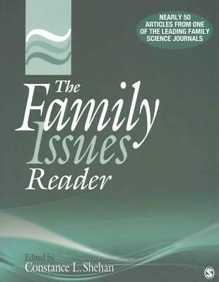 The Family Issues Reader by Constance L. Shehan (English) Paperback Book Free Sh