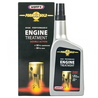 Wynn's Formula Gold Engine Treatment Reduces Friction Oil Cleaner 500ml