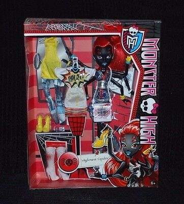 Monster High Wydowna Spider Doll with Extra Fashion Outfits BNIB