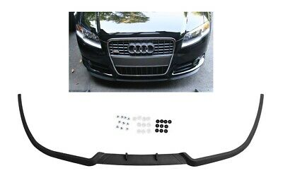 Für Audi A4 S4 RS4 B7 Front Spoiler Lippe Frontschürze Frontlippe Frontansatz S-