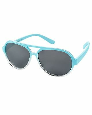 New Carter's Sunglasses Blue Aviator size baby 0 - 24m NWT Flexible Arms
