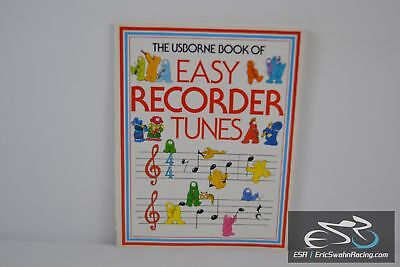 The Usborne Book of Easy Recorder Tunes Paperback 1990 Philip Hawthorn