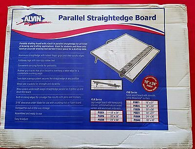 PXB24 Portable Straightedge Drafting Drawing Board 18x24""