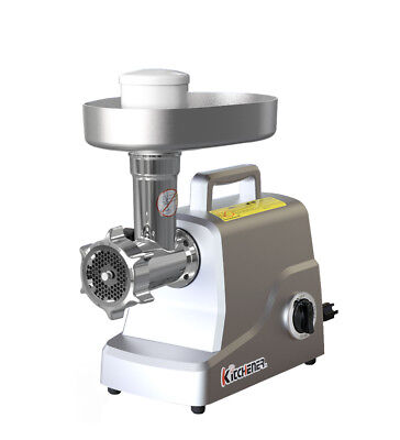 Kitchener Heavy Duty Stainless Steel Electric Meat Grinder 2/3 HP (500W)