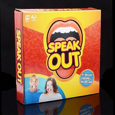 Speak Out Mouthguard Challenge Braces Mouthpiece Board Challenge Game Xmas Party