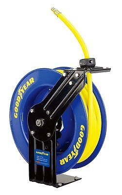 NEW GOODYEAR Steel Retractable Air Compressor/Water Hose Reel 3/8 X 50ft 300PSI