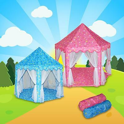 Castle Play Tent Play Doll Baby House Teepee Portable Folding Star Princess Girl
