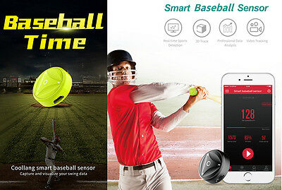 Coollang Smart Baseball Sensor Sports Swing Activity Tracker For Iphone,Android