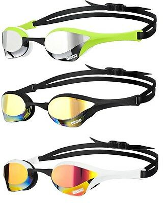 New ultimate racing goggles arena cobra ultra mirror 5 new colors available