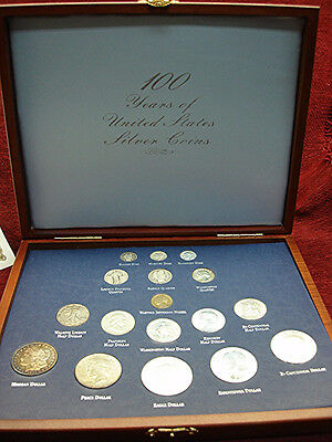 100 Years Of United States Silver Coins - Nice Coins - Nicely Presented