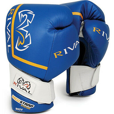 Rival Boxing High Performance Pro 18 oz. Sparring Gloves - Blue