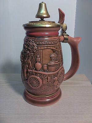 """1989 Avon """"Tribute to American FireFighters"""" Stein"""