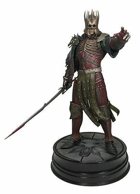 "The witcher 3 wild hunt roi EREDIN 8"" figure dark horse statue figurine 20 cm"