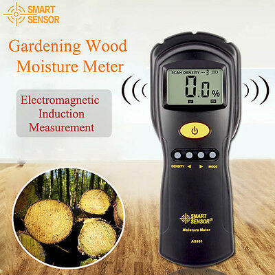 BG108 SMART Gardening Induction Wood Moisture Meter Paper Timber  tester