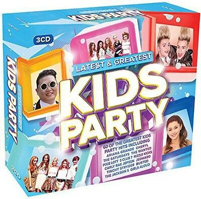 Various Artists - Latest & Greatest Kids Party / Various [New CD] UK - Import