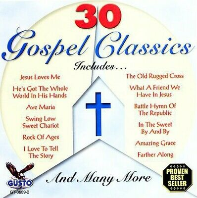 Various Artists - 30 Gospel Classics / Various [New CD]