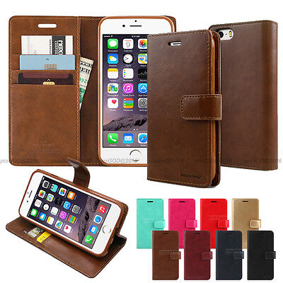 Goospery Flip Leather Wallet Case Cover For iPhone 6S 7 8 Plus XR XS Max Lot