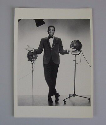 Marvin Gaye in 1963 Vintage Postcard