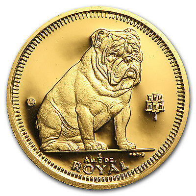 Gibraltar Gold 1/2 oz Royal Dog BU/Proof (Random) - SKU #63179