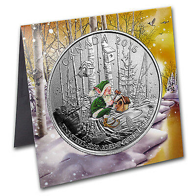 2016 Canada 1/4 oz Silver $25 Woodland Elf - SKU #104561