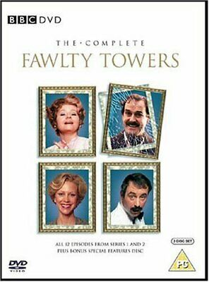 The Complete Fawlty Towers [1975] [DVD] - DVD  V0VG The Cheap Fast Free Post