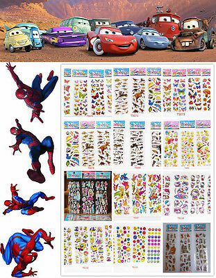 Stickers Lot Wholesale!3D Pvc Puffy Kids Scrapbooking & Paper Crafts Party Gift