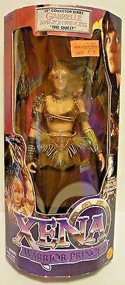 "Gabrielle Amazon Princess ""The Quest"" 12'' Collector Series by Toybiz 1999"