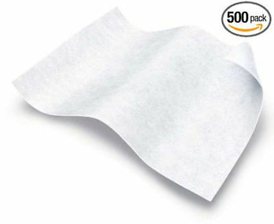 Free Shipping 500 Count Medline Ultra-Soft Disposable Dry Cleansing Wipes10x13in