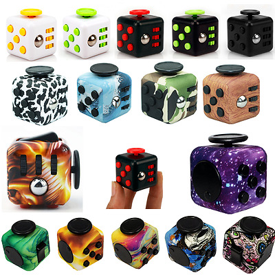 Magic Fidget Cube Toy Anxiety and Stress Reliever For Adults Kids Cube Gift