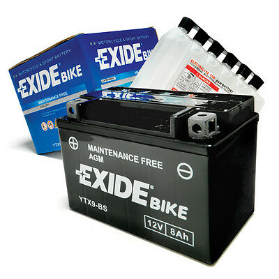 Exide YT7B-BS Premium Motorcycle Battery with Acid Plus 12 Months Warranty