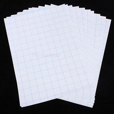 Fashion 10 Sheets A4 T-Shirt Inkjet Heat Transfer Iron On Paper For Fabric Cloth