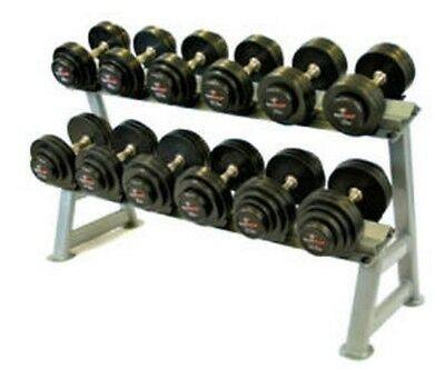 SolidFocus 2 Tier Dumbbell Saddle Rack Holds 10 Pairs BRAND NEW (Rack Only)